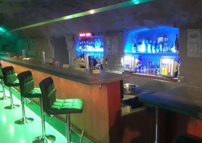 Gay Club Prague Party bar seats 2