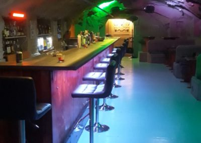Gay Club Prague Party bar seats